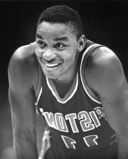 1986 Detroit Pistons ISIAH THOMAS Glossy 8x10 Photo Basketba