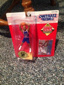 1995 Grant Hill #33 Rookie Starting Lineup With Card Mint De