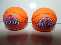 2) Detroit Pistons NBA ANTENNA OR PENCIL TOPPER Wholesale Ba
