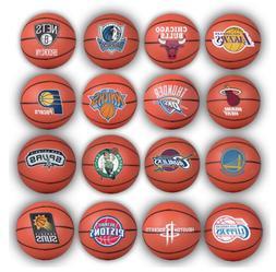 "2 NEW 2015 NBA BASKETBALL MINI 2"" BALL SOUVENIRS CAKE TOPPER"
