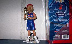 2004 RASHEED WALLACE 10 INCH CHAMPIONSHIP TROPHY/RING BOBBLE