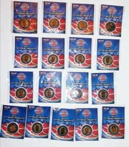 2006 detroit pistons medallion collection 17 out