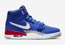 Nike Air Jordan Legacy 312 BLUE DETROIT PISTONS RED WHITE JU