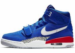 Nike Air Jordan Legacy 312 Pistons Detroit Don C Blue Red AV
