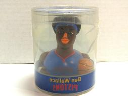 Celebriducks Ben Wallace Detroit Pistons Collectible Rubber