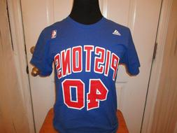 Brand New Detroit Pistons Bill Laimbeer # 40 Adidas Authenti