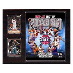 C&I Collectibles NBA Detroit Pistons All-Time Greats Team Ph