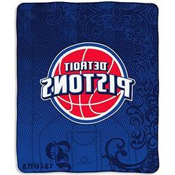 Northwest Detroit Pistons Micro-Raschel 50X60 Blanket 50In X