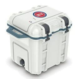 Detroit Pistons OtterBox 25-Quart Cooler - White