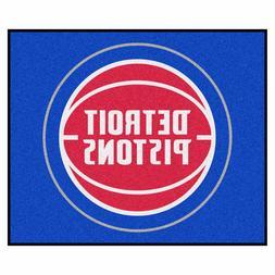 Detroit Pistons 5' X 6' Tailgater Area Rug Floor Mat