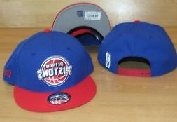 Detroit Pistons New Era 9Fifty Traditional Snapback Men's Ha
