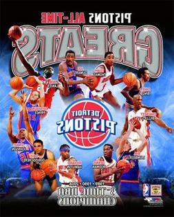 Detroit Pistons ALL-TIME GREATS 11 Legends, 3 Championships