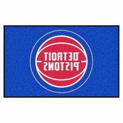 FANMATS Detroit Pistons Area Rug NBA Team Carpet Tailgate Ho