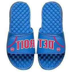 Detroit Pistons ISlide Away Jersey Split Slide Sandals - Roy