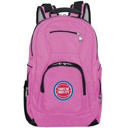 Detroit Pistons Backpack Laptop - Pink