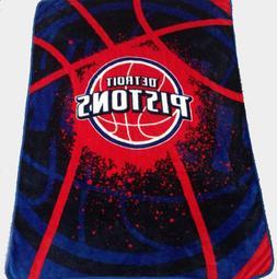 Detroit Pistons blanket bedding 60x80 NBA Pistons throw  fre
