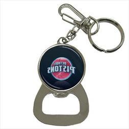 Detroit Pistons Bottle Opener Keychain - NBA Basketball