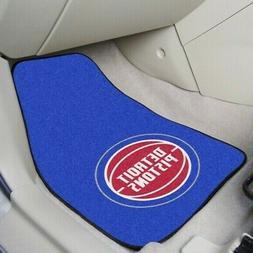 Detroit Pistons Car Floor Mat 2-Piece carpet Set