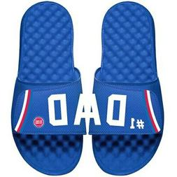 Detroit Pistons ISlide Dad Slide Sandals - Royal