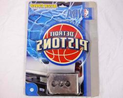 Detroit Pistons Large Trailer Hitch Cover - NBA Basketball C