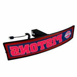 Detroit Pistons Light Up Hitch Cover - LED Illuminated Trail