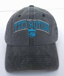 ANY MEMES DETROIT PISTONS MOTOR CITY HAT BASEBALL CAP GREY