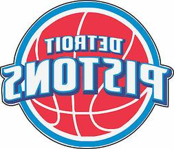 Detroit Pistons NBA Basketball Bumper sticker, wall decor, v