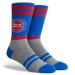 Detroit Pistons Stance NBA City Gym Socks Large Men's 9-12
