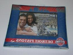 Detroit Pistons New Factory Sealed 8in. X 6in. Photo Frame