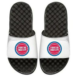 Detroit Pistons Primary iSlide Sandals - White