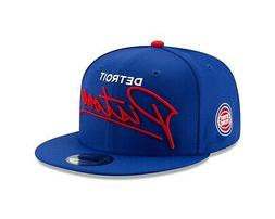 detroit pistons script turn snapback 9fifty nba