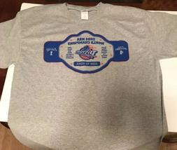 DETROIT PISTONS SGA 2004 NBA CHAMPIONS T SHIRT Large Lakers