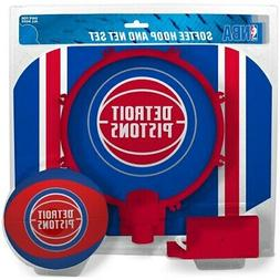 Detroit Pistons Rawlings Softee Hoop & Ball Set
