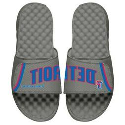 Detroit Pistons ISlide Statement Jersey Split Slide Sandals