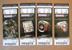 Detroit Pistons Ticket Stubs Set of 4 2006 NBA Finals 1st Ro