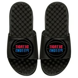 Detroit Pistons ISlide Tonal Pop Slide Sandals - Black