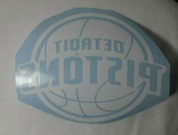 Detroit Pistons Vinyl Graphic Decal Sticker NBA Basketball 7