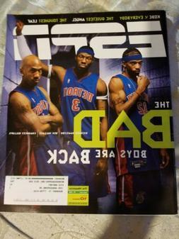 ESPN The Magazine Detroit Pistons Richard Hamilton Ben Walla