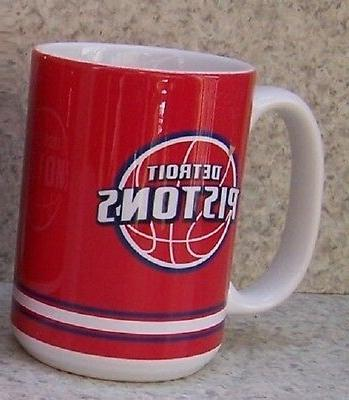 coffee mug sports nba detroit pistons new