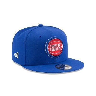 detroit pistons 9fifty nba adjustable snapback hat
