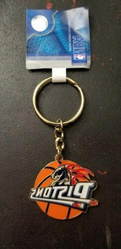 DETROIT PISTONS BASKETBALL KEY CHAIN RING LOT OF 10