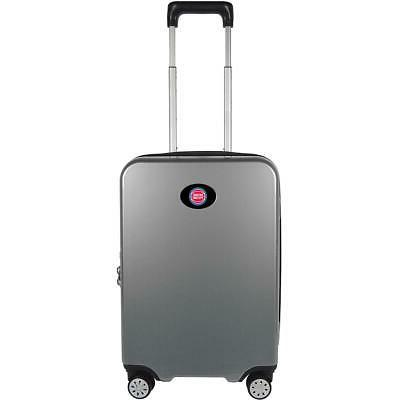 detroit pistons luggage carry on 22in hardcase