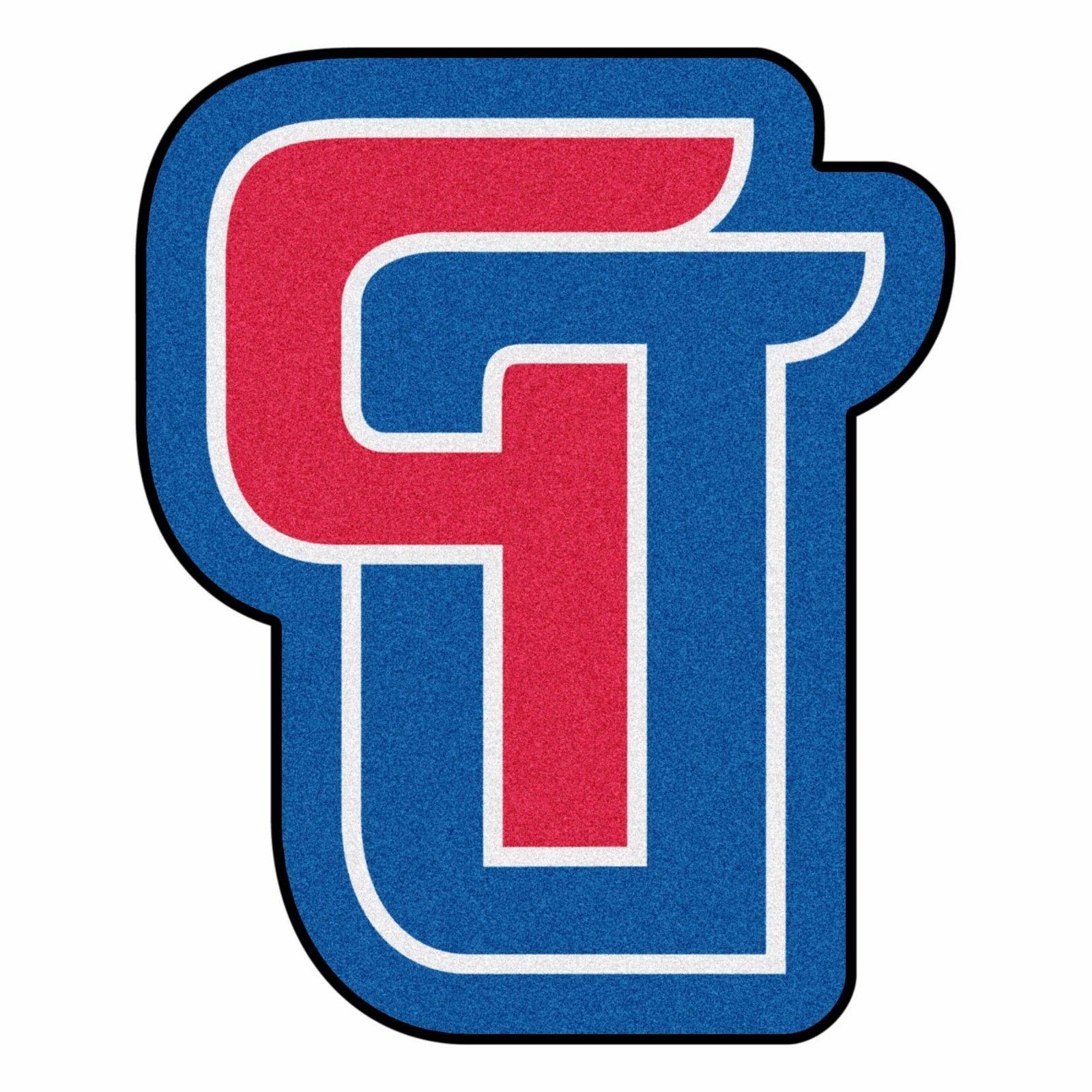detroit pistons mascot decorative logo cut area