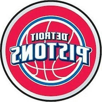 detroit pistons nba basketball emblem 3d logo