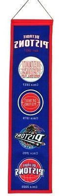 Detroit Pistons Winning Streak Past Mascots Wool Heritage Ba