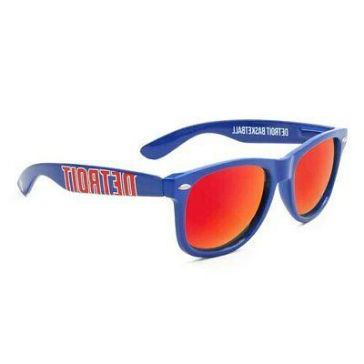 detroit pistons sunglasses royal blue