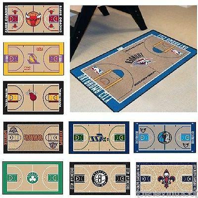 nba teams 24 x 44 basketball court