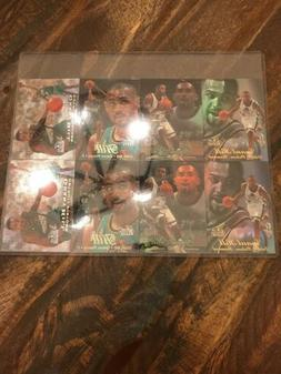 Lot Of 2 1998 FLAIR SHOWCASE GRANT HILL 4 CARD UN-CUT PROMO