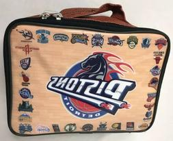 Lunchbox Detroit Pistons Basketball NBA Insulated Lunch Box