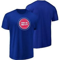 Men's Majestic Blue Detroit Pistons Victory Century T-Shirt